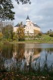 Старый и исторический замок Radun в чехии Стоковая Фотография