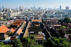 Старый и новый Бангкок Стоковое Изображение