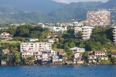 Старый и новый в Мартинике Стоковые Фото