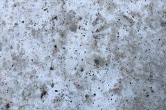 Старый и пакостный снег Стоковые Изображения RF
