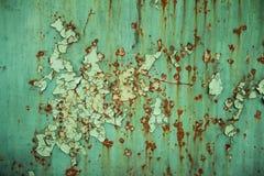 Старый и ржавый металл Стоковые Фотографии RF