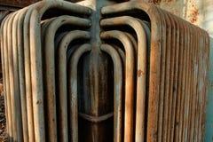 Старый и ржавый металл Стоковое Фото