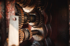 Старый и ржавый металл Стоковые Изображения RF