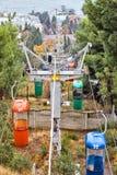 Старый кабел-кран в Ялте Стоковое Изображение RF