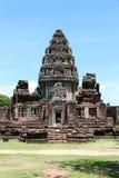 Старый каменный замок в Таиланде Стоковые Фотографии RF
