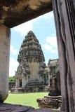 Старый каменный замок в Таиланде Стоковые Изображения