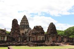 Старый каменный замок в Таиланде Стоковая Фотография