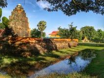 Старый каменный замок стоковая фотография