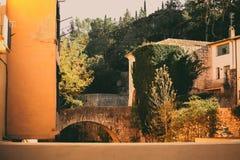 Старый каменный мост в Хероне Стоковая Фотография RF