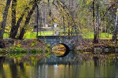 Старый каменный мост Стоковое фото RF