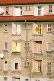 Старый каменный дом в Польше - Gorzow Wielkopolski стоковое изображение rf