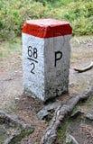 Старый камень границы Стоковая Фотография RF