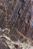 Старый камень с зеленым мхом Стоковое Фото
