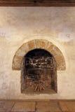Старый камин Стоковое фото RF