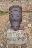 Старый канон металла Стоковые Фотографии RF