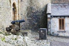 Старый карамболь литого железа Стоковые Изображения RF