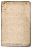 Старый картон фото постаретая бумага предпосылки Стоковое Фото