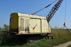 Старый карьер около dragline Стоковое фото RF