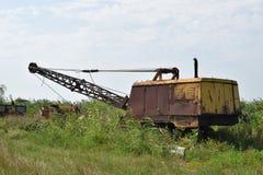 Старый карьер около dragline Стоковое Фото