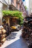 Старый квартал Бангкока Стоковые Фото