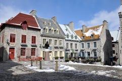Старый Квебек (город), Квебек, Канада Стоковое Фото
