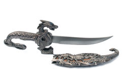 Старый кинжал сувенира Стоковые Изображения