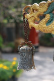 Старый китайский колокол Стоковые Изображения RF