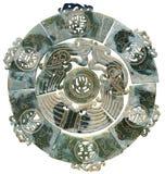 Старый китайский нефрит Стоковое Изображение