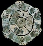 Старый китайский нефрит Стоковое Фото