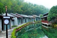 Старый китайский дом Стоковое Изображение