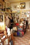 Старый книжный магазин в Лиссабоне Стоковое Изображение RF