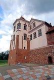 Старый комплекс замка Mir в Беларуси Стоковые Изображения RF