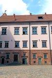 Старый комплекс замка Mir в Беларуси Стоковые Фотографии RF