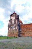 Старый комплекс замка Mir в Беларуси Стоковое Изображение RF