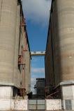 Старый конкретный лифт зерна Стоковые Фотографии RF