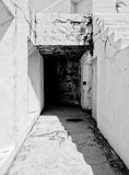 Старый конкретный форт Стоковые Фотографии RF