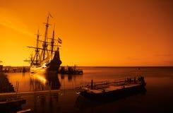 старый корабль стоковая фотография rf