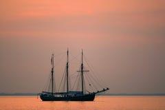 старый корабль sailing Стоковое Изображение RF