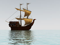 старый корабль sailing Стоковые Изображения