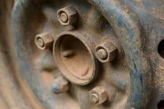 Старый корабль автомобиля колеса сплава металла Стоковое Изображение