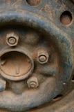 Старый корабль автомобиля колеса сплава металла Стоковое Изображение RF