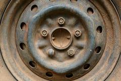 Старый корабль автомобиля колеса сплава металла Стоковое фото RF