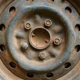 Старый корабль автомобиля колеса сплава металла Стоковые Изображения RF