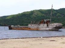 Старый корабль в море Стоковая Фотография RF