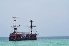 старый корабль пирата Стоковая Фотография RF