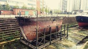 старый корабль Стоковые Изображения