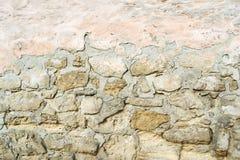 Старый коричневый и серый булыжник стоковое изображение rf