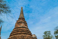 Старый королевский дворец в Ayutthaya Таиланде Стоковые Изображения RF