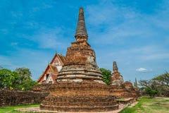 Старый королевский дворец в Ayutthaya Таиланде Стоковые Фотографии RF