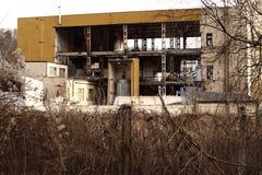 Старый котел фабрики Стоковая Фотография RF